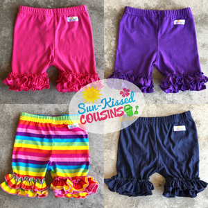 Double Ruffle Shorts (4 colors)