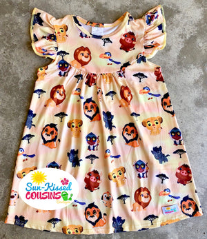Lion King Pearl Dress