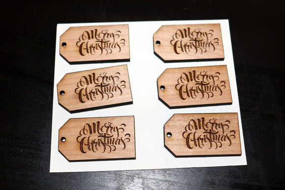 Wooden Christmas Gift Tags - Be You Boutique