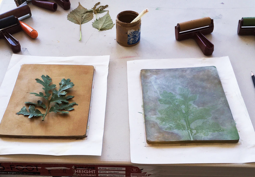 Nov 14 & Nov 21 PRINTING WITH LOCAL FLORA with Kalen Meyer