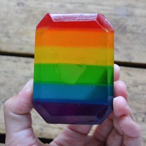 Hippie Vibes Crystal Soap
