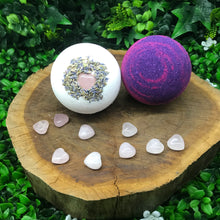 Open Your Heart Crystal Bathbomb Limited Edition