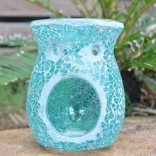 Mosaic Crackle Oil Burners