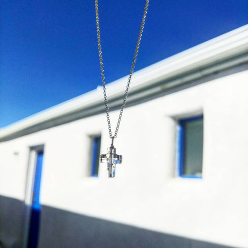 Swarovski cross pendant necklace