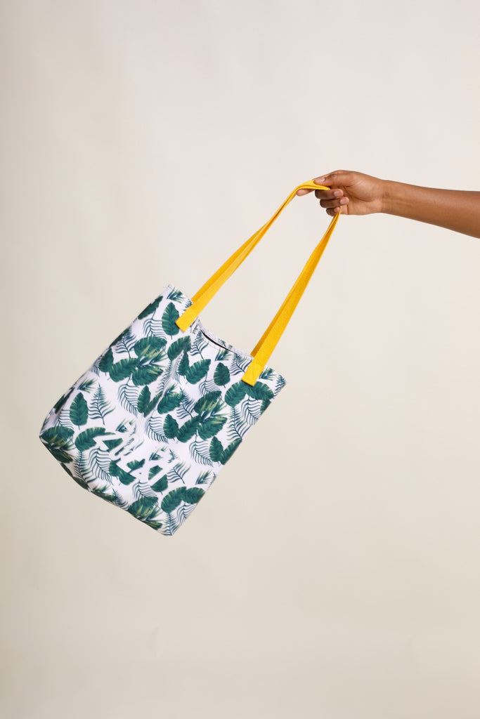 ZOEZI Damaris Palm Tote bag