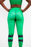 Muthoni Green Yoga Leggings