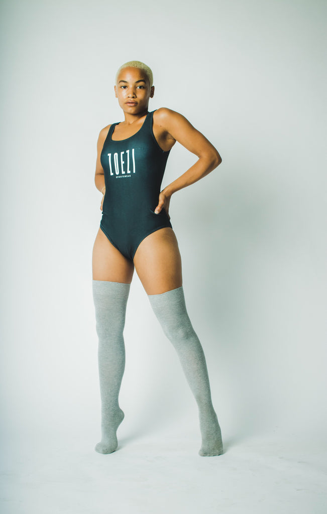ZS LOGO One-Piece Swimsuit