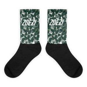Palm Print ZS Socks