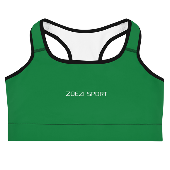 Muthoni Green Sports Bra