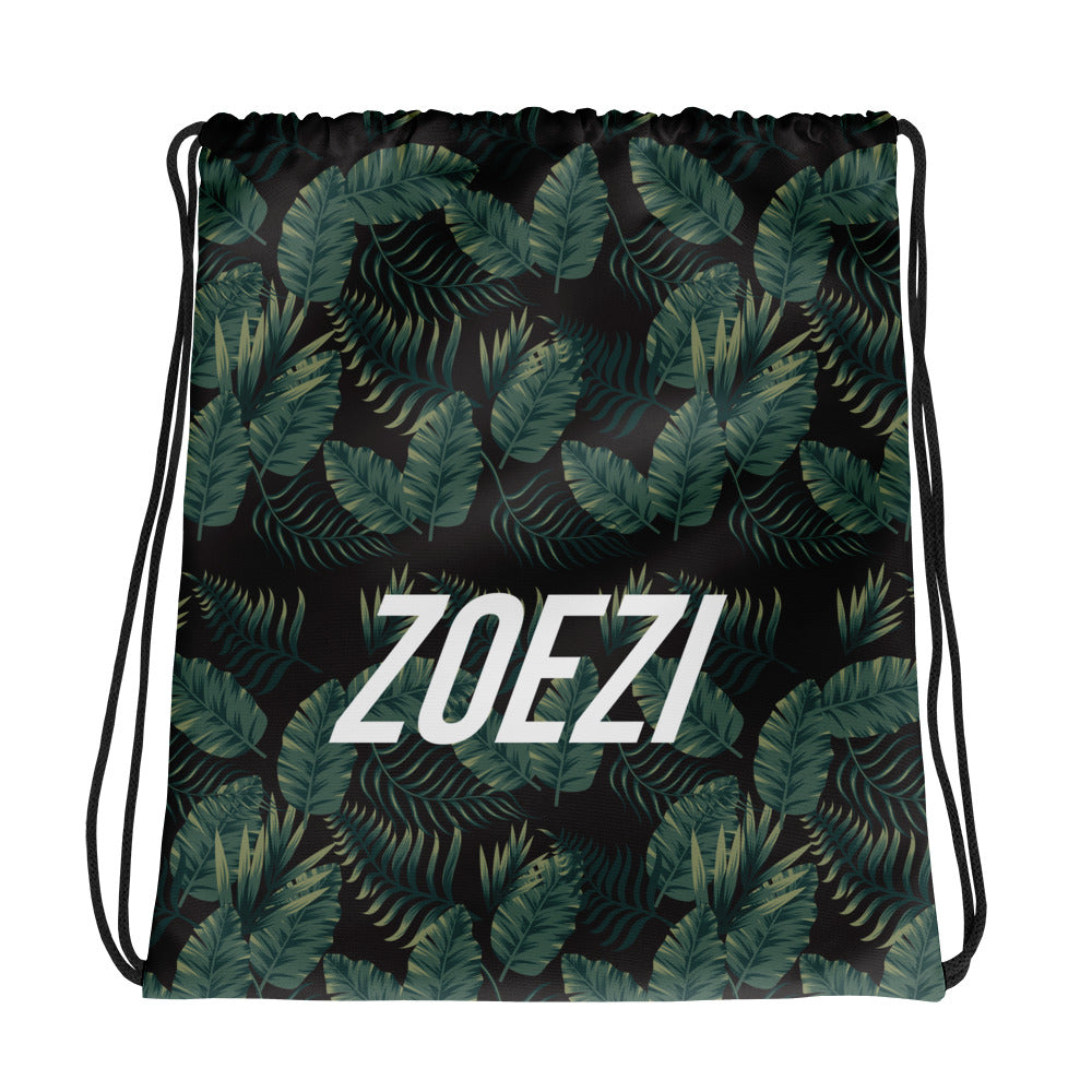 Palm Print ZS Drawstring bag