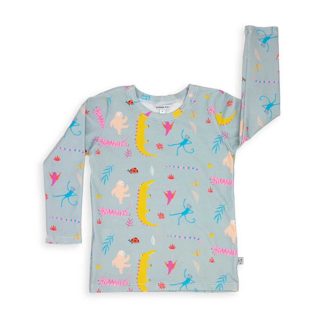 Long sleeve Top - Jungle Jive