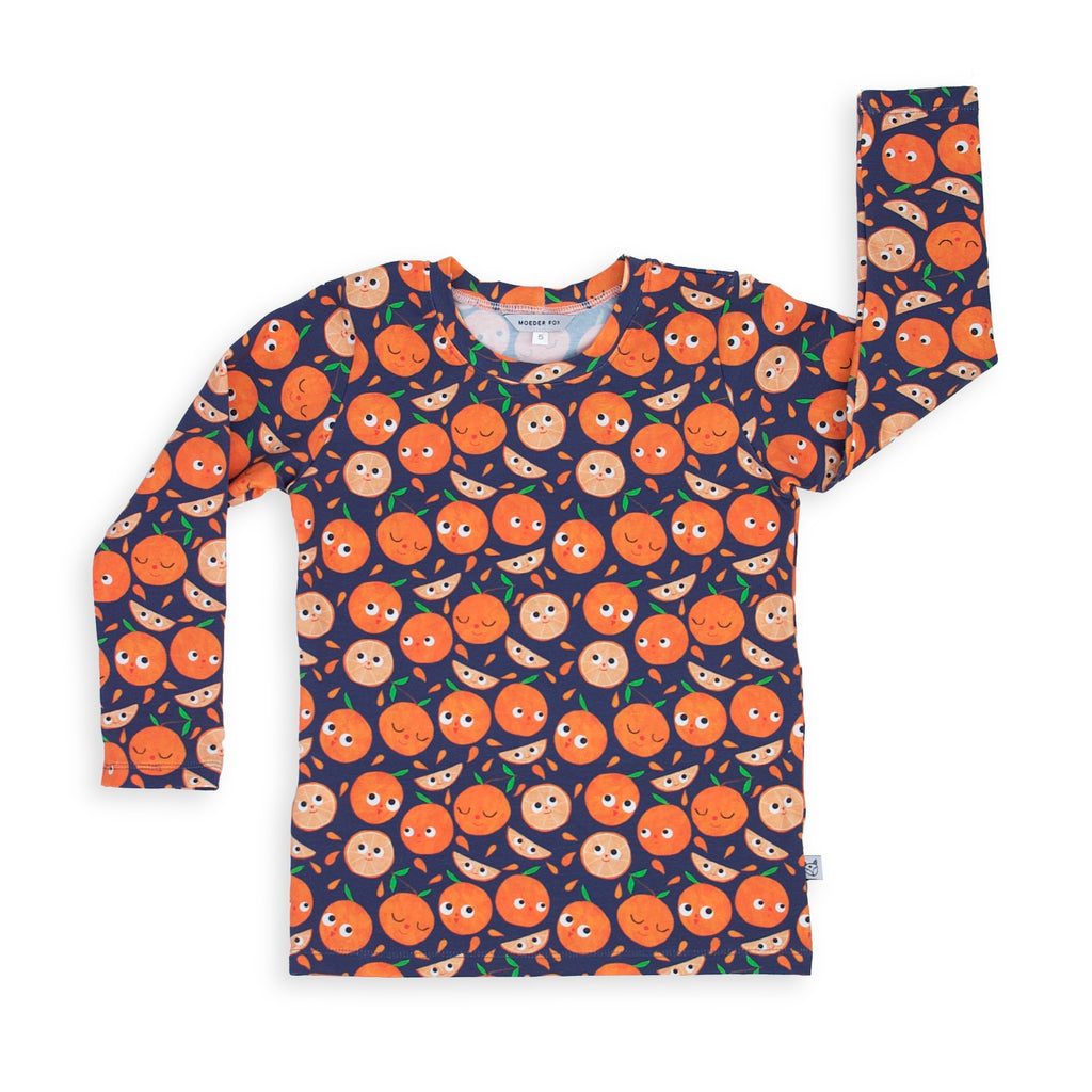 Long sleeve Top - Orange You Happy