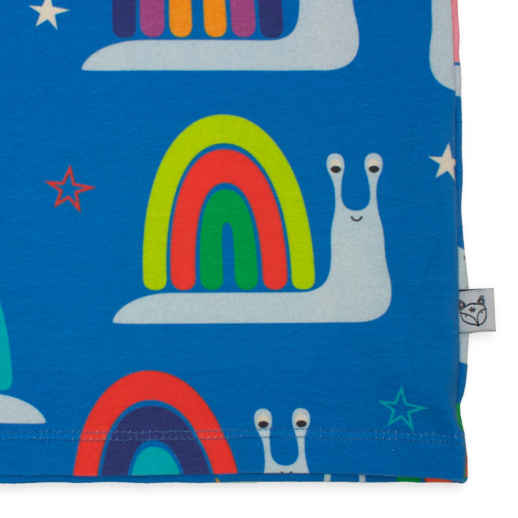 Long sleeve Top - Rainbow snails