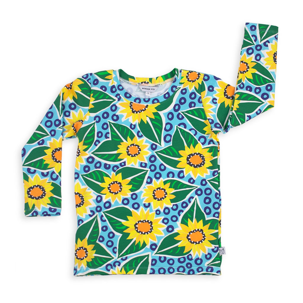 Long sleeve Top - Sunflowers