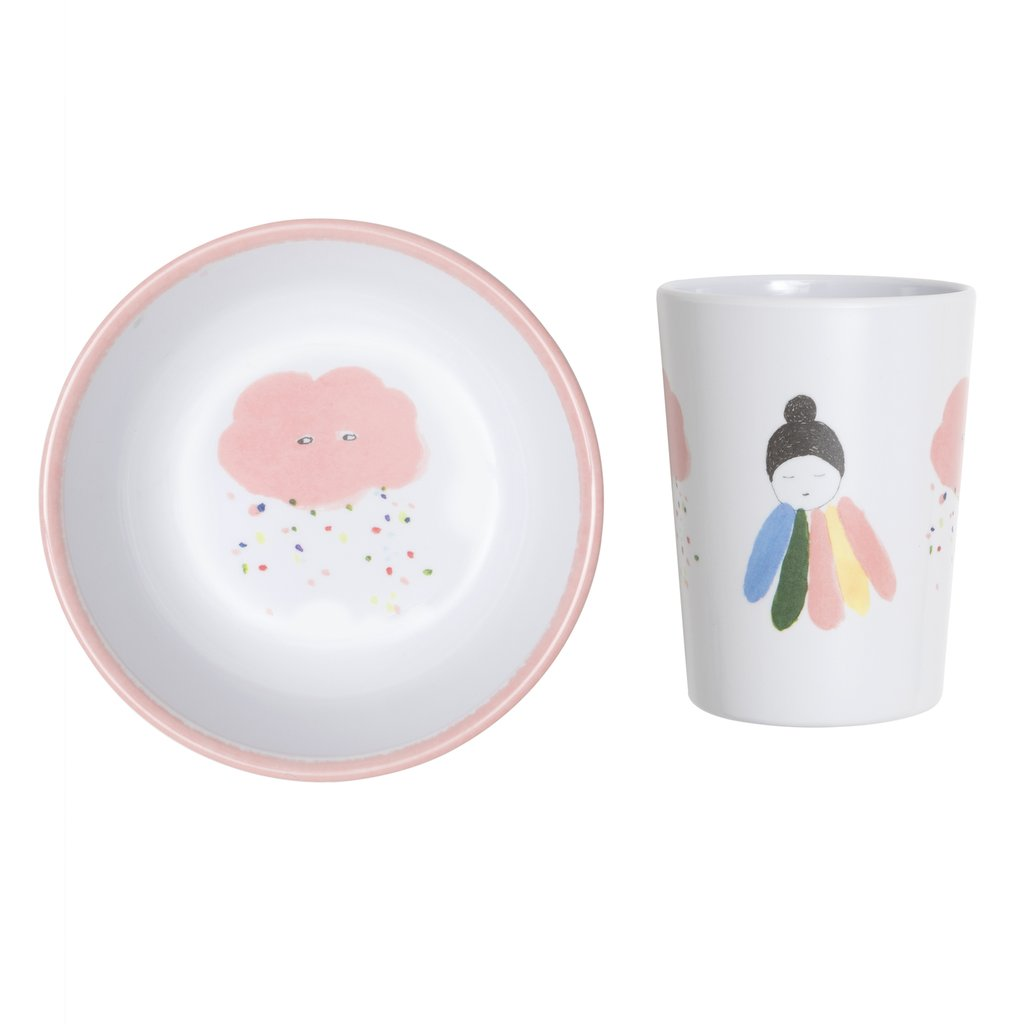 Lapin & Me X Pax & Hart Cup and Bowl Set - Pixie | Moeder Fox
