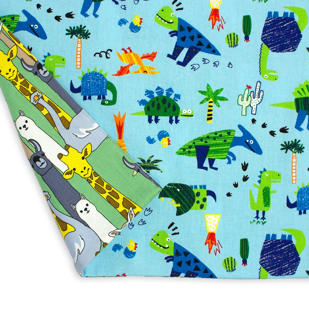 Kids Reversible Apron - Dinosaurs/Long Neck Animals