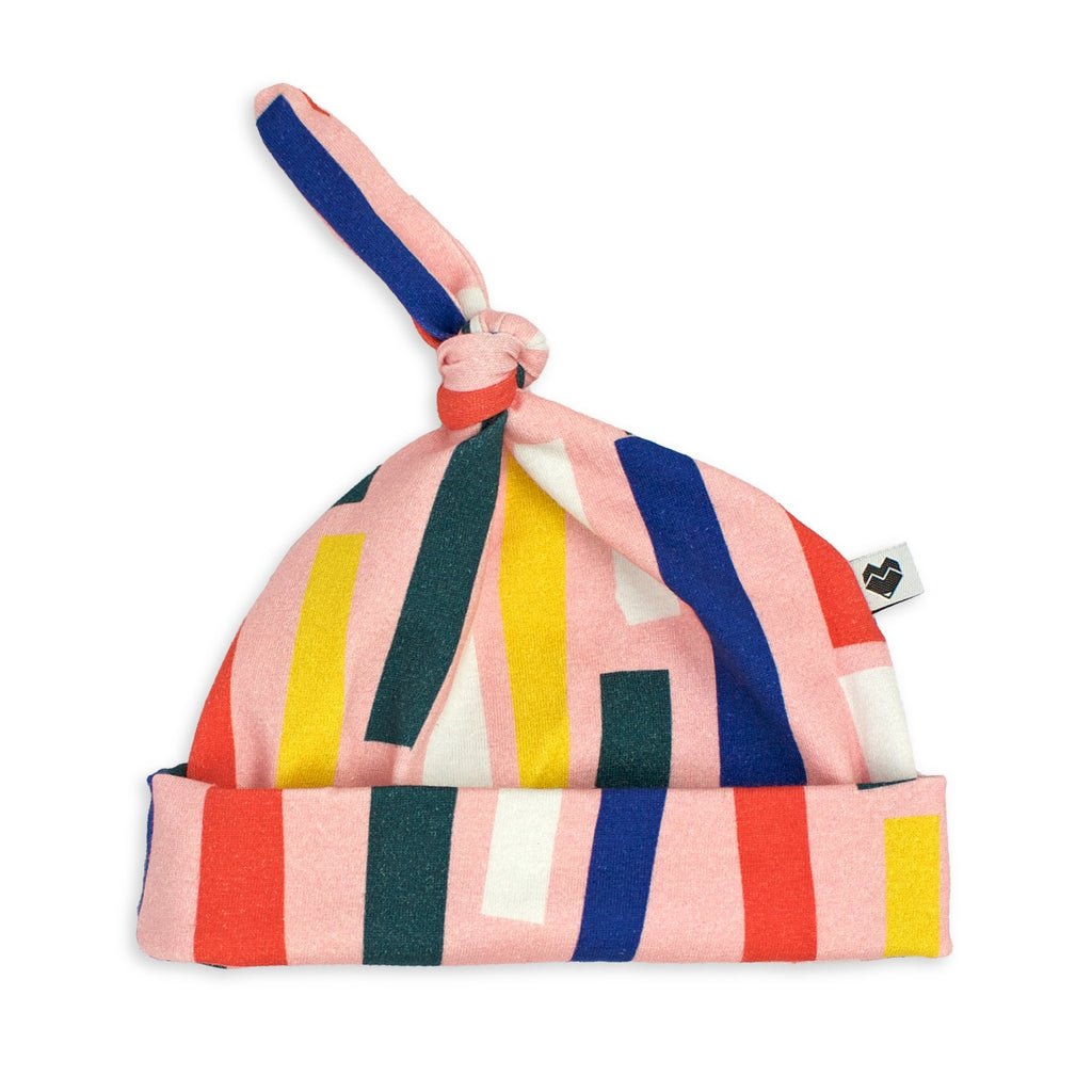 Top Knot Baby Beanie - Fee Fi Fo Sprinkles