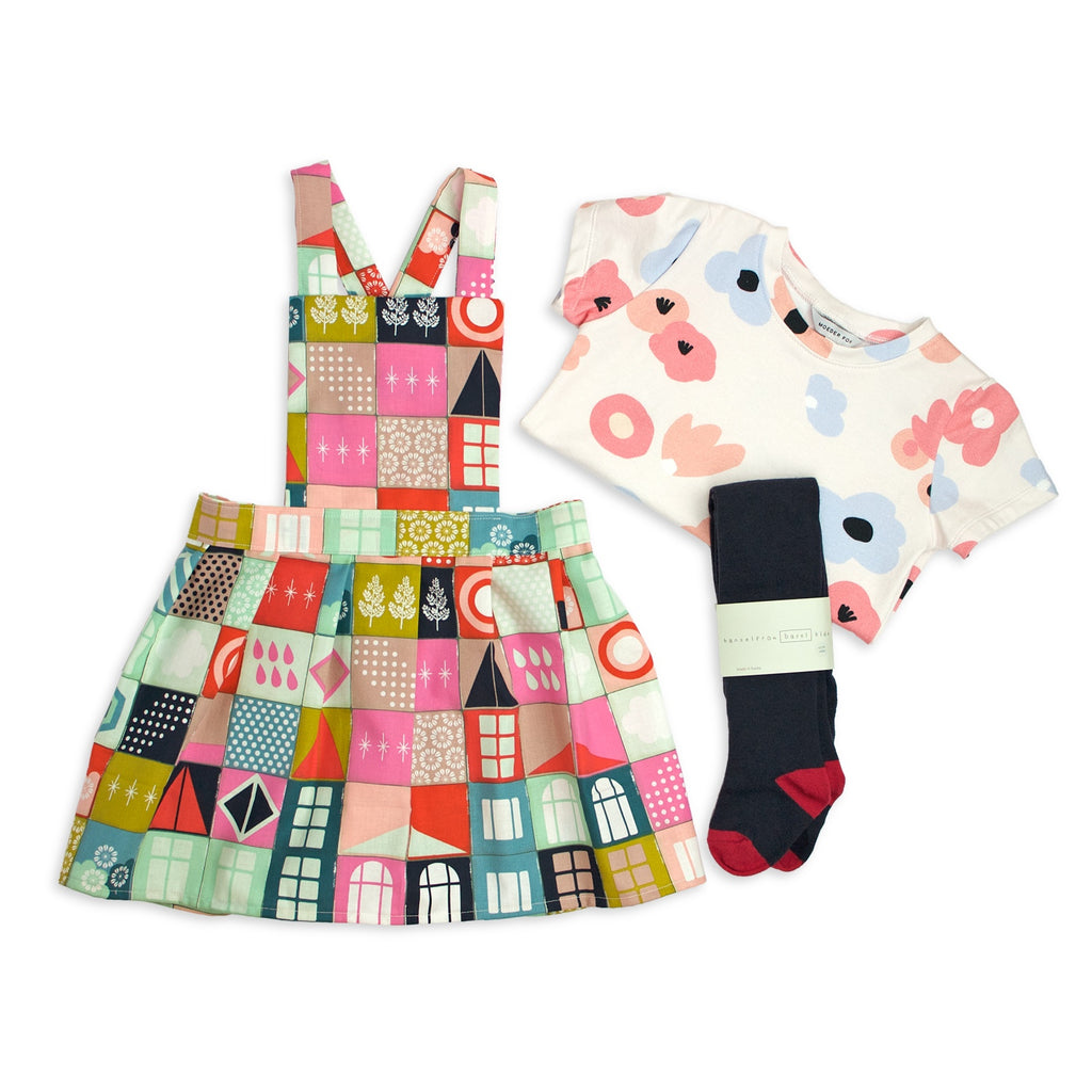 Gift Set - Memory (Pinafore + Tee + Tights)