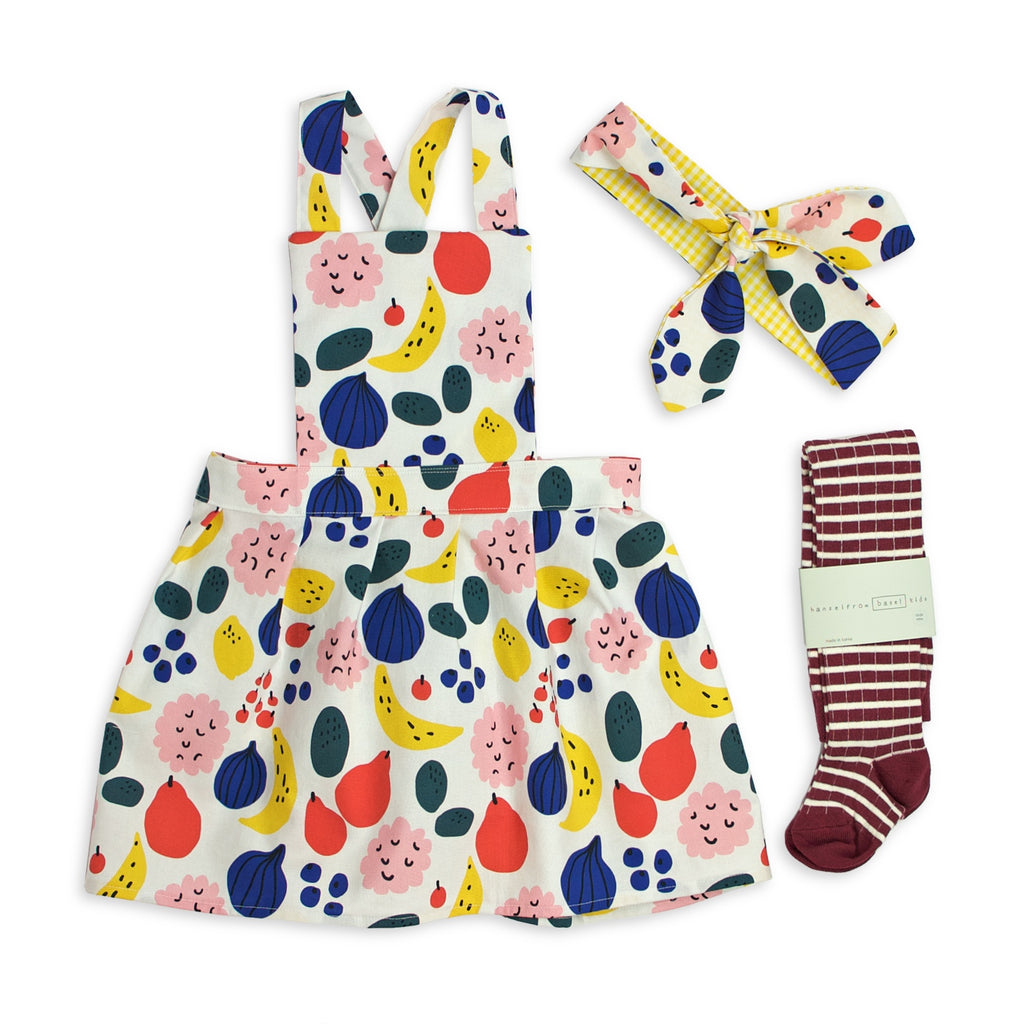 Gift Set - Salsa (Pinafore + Headband + Tights)