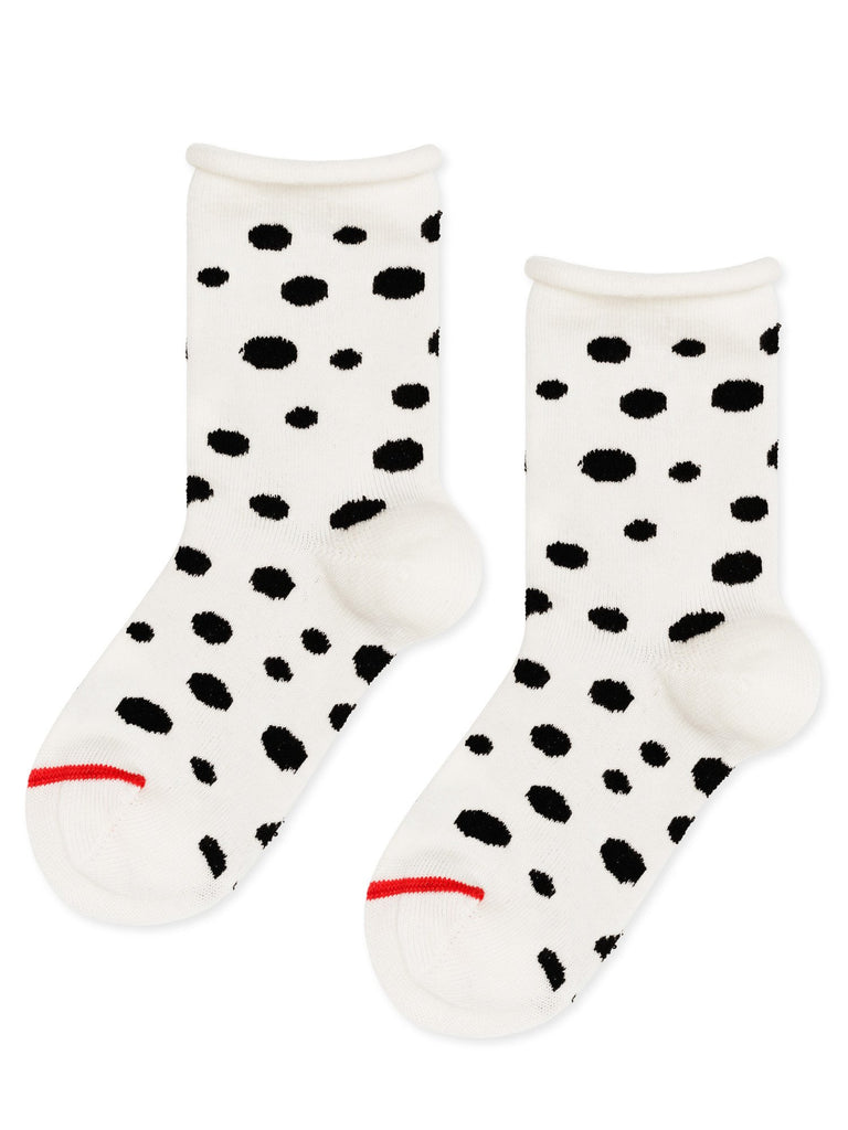 Hansel From Basel - Mini Dalmation crew socks | Moeder Fox