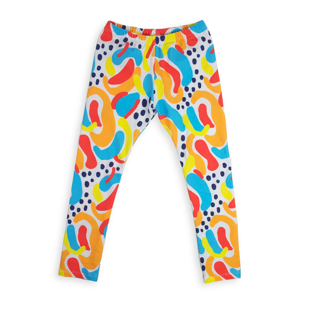 Leggings - Happy Abstract