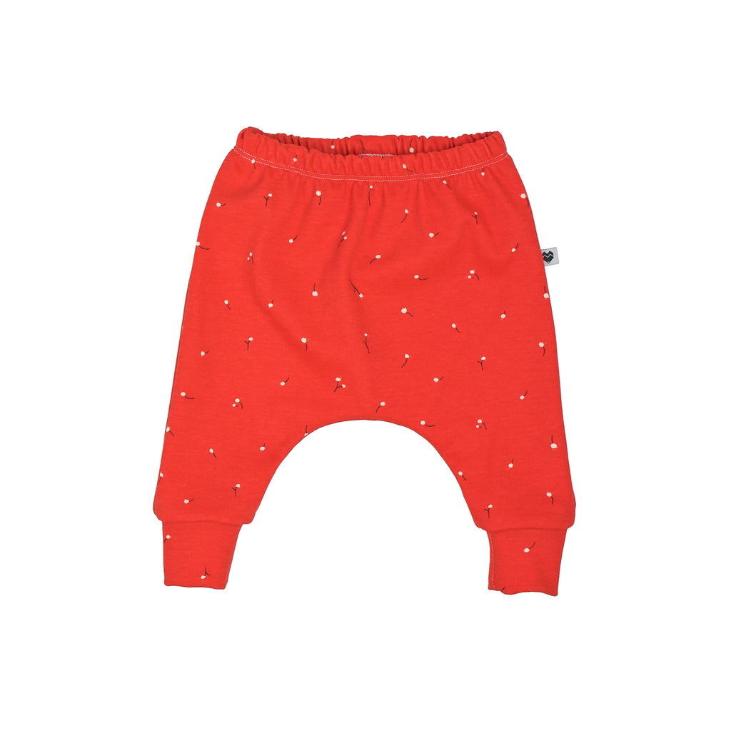 Organic Harem Pants - Red Wishes
