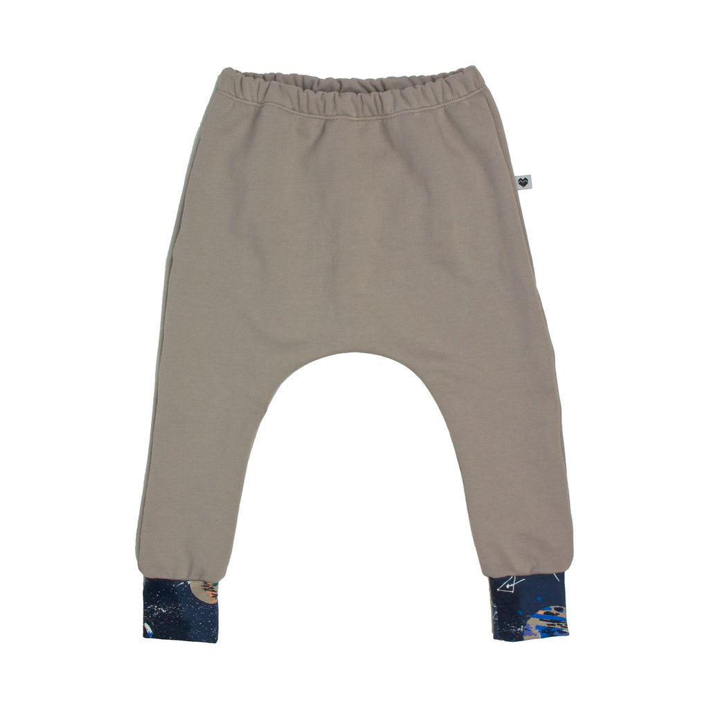 Organic Cotton Fleece Trackies - Essentials Range - Natural Galaxy