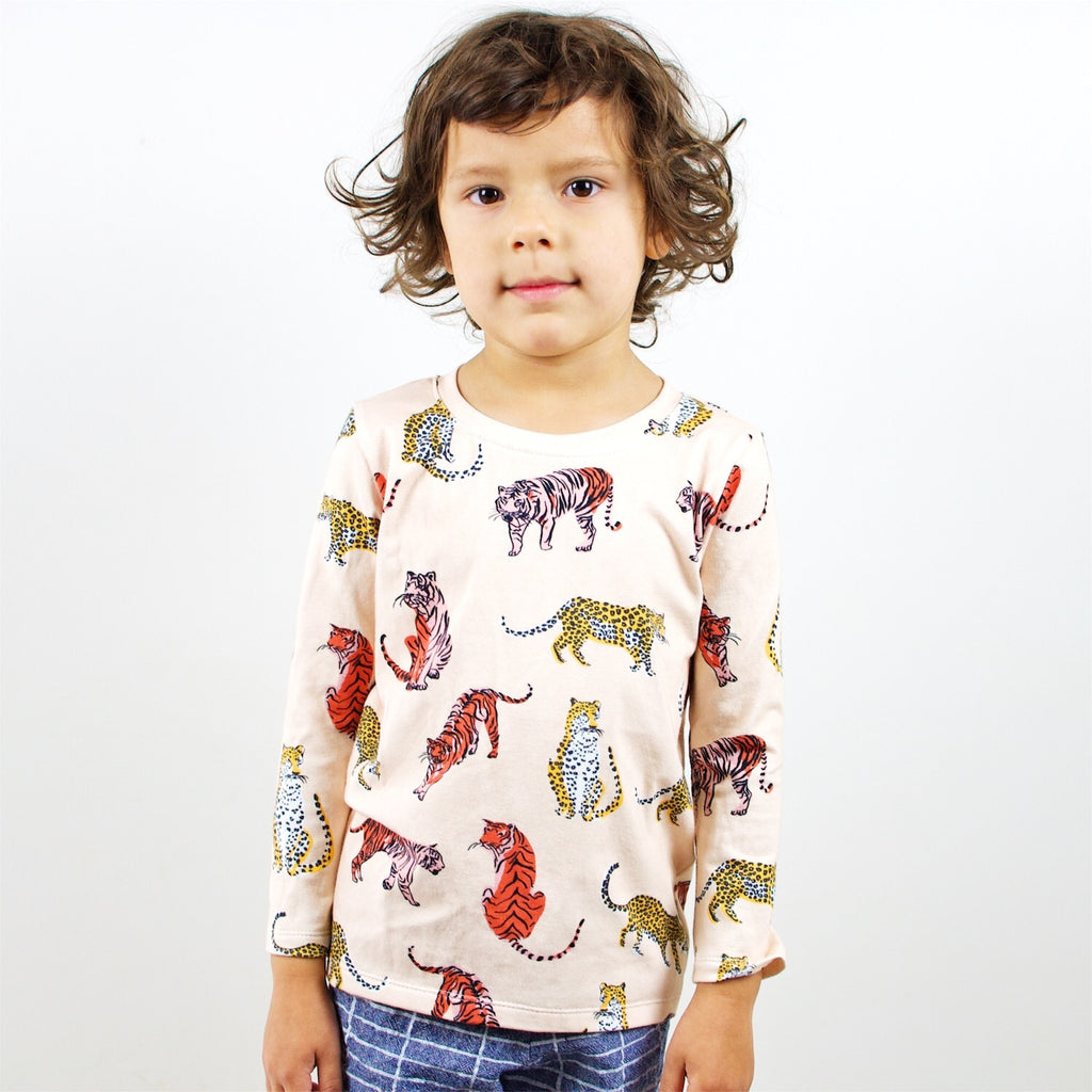 Long sleeve Top - Big Cats