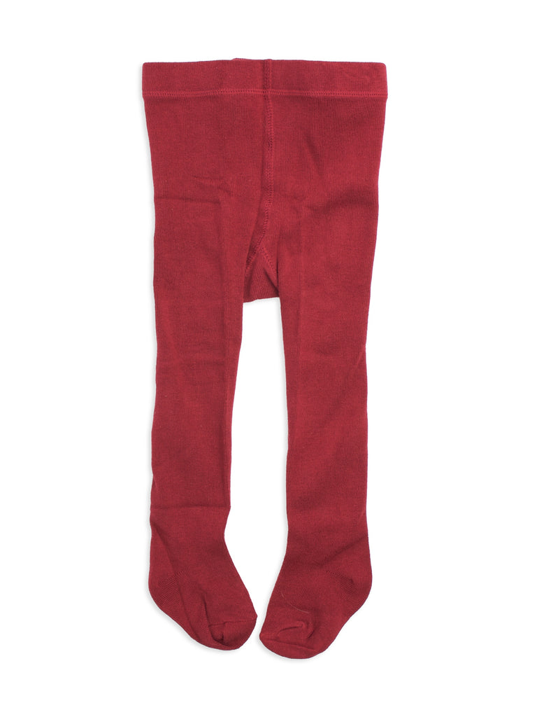 Scruffdog kids tights - La Rouge (red) | Moeder Fox
