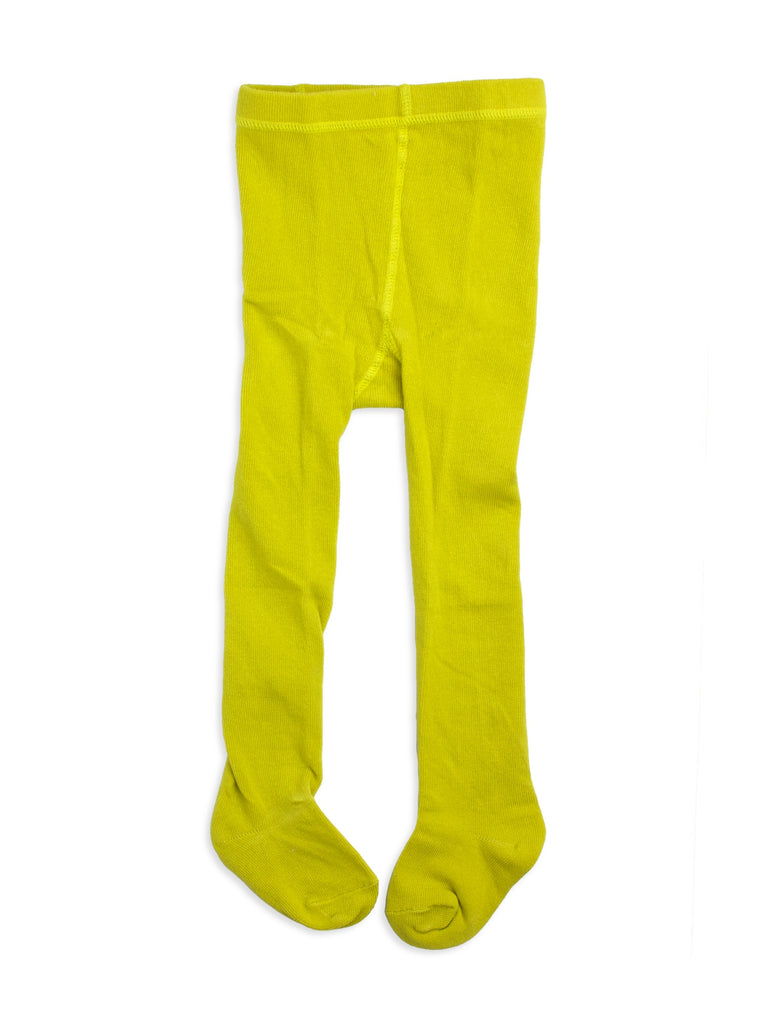Scruffdog kids tights - Chartreuse (yellow) | Moeder Fox