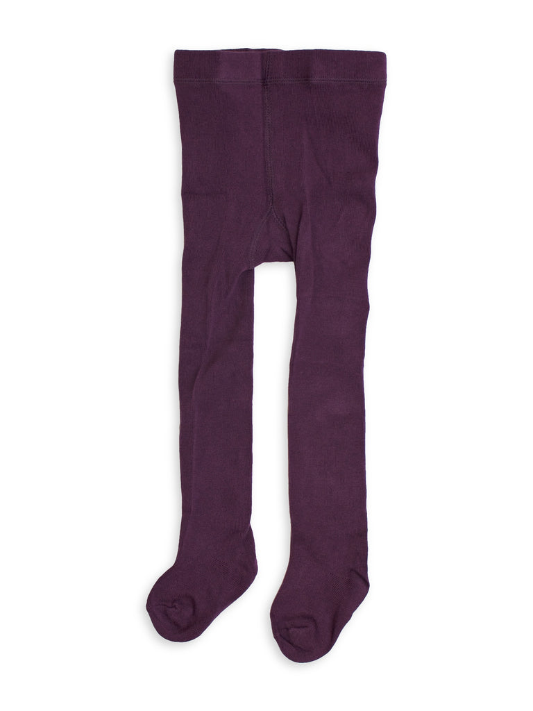 Tights - Baby, toddler, kids - grape - Scruffy dog | Moeder Fox