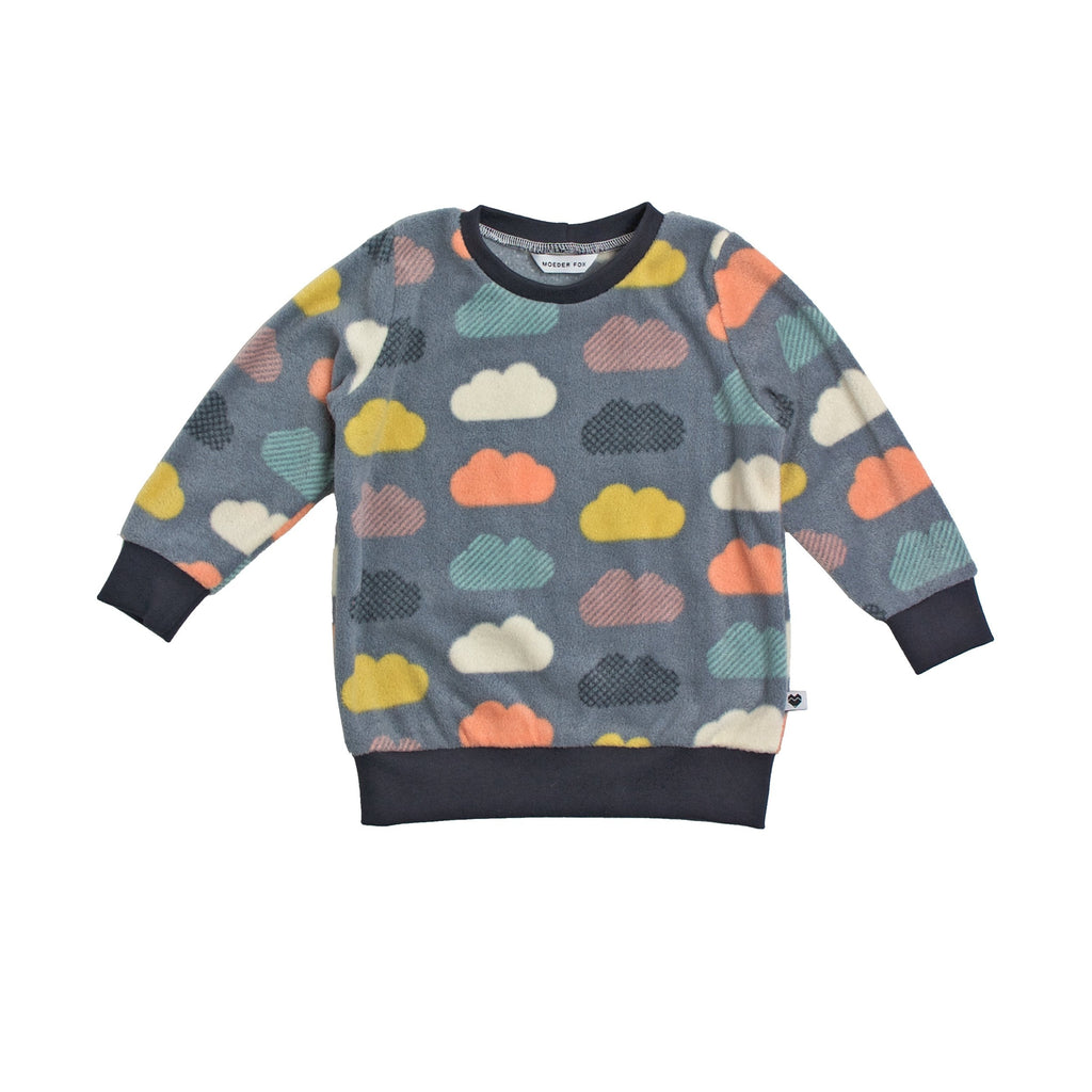 Kids Sweater | Clouds | Unisex clothing | Moeder Fox