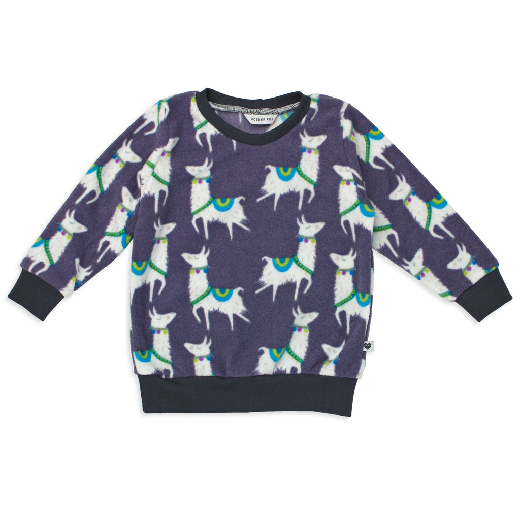 Kids Sweater | Llamas | Unisex clothing | Moeder Fox