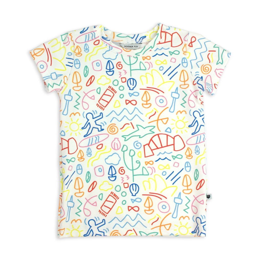 Baby Toddler Kids tshirt | Bondi | Ellie Whittaker | Moeder Fox
