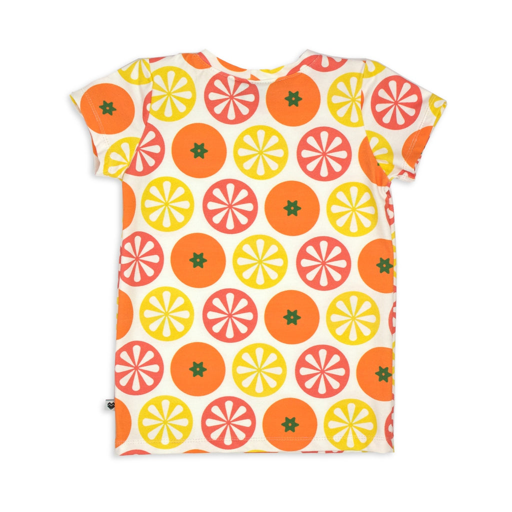 Baby Toddler Kids tshirt | Citrus | Moeder Fox
