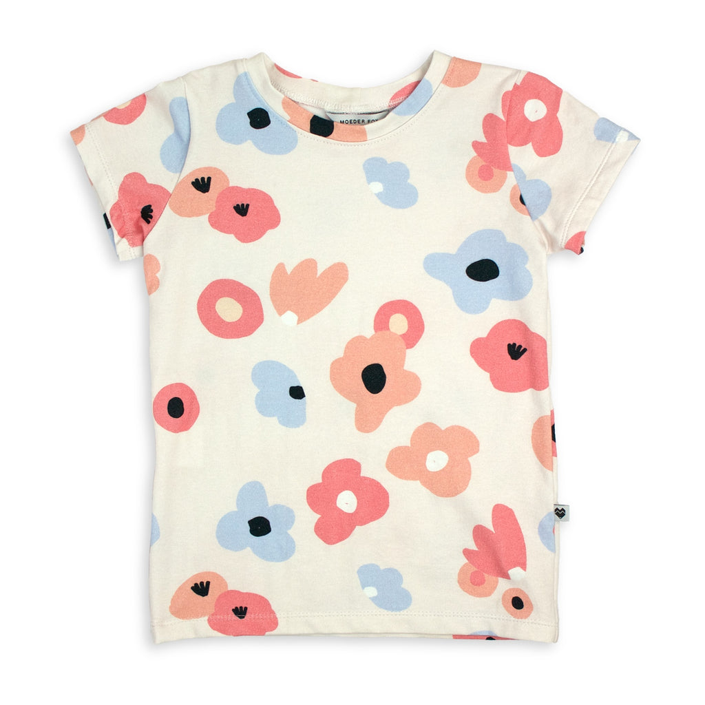 Cotton Jersey T-Shirt - Posies