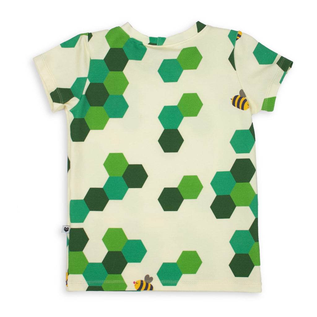 Cotton Jersey T-Shirt - Bees