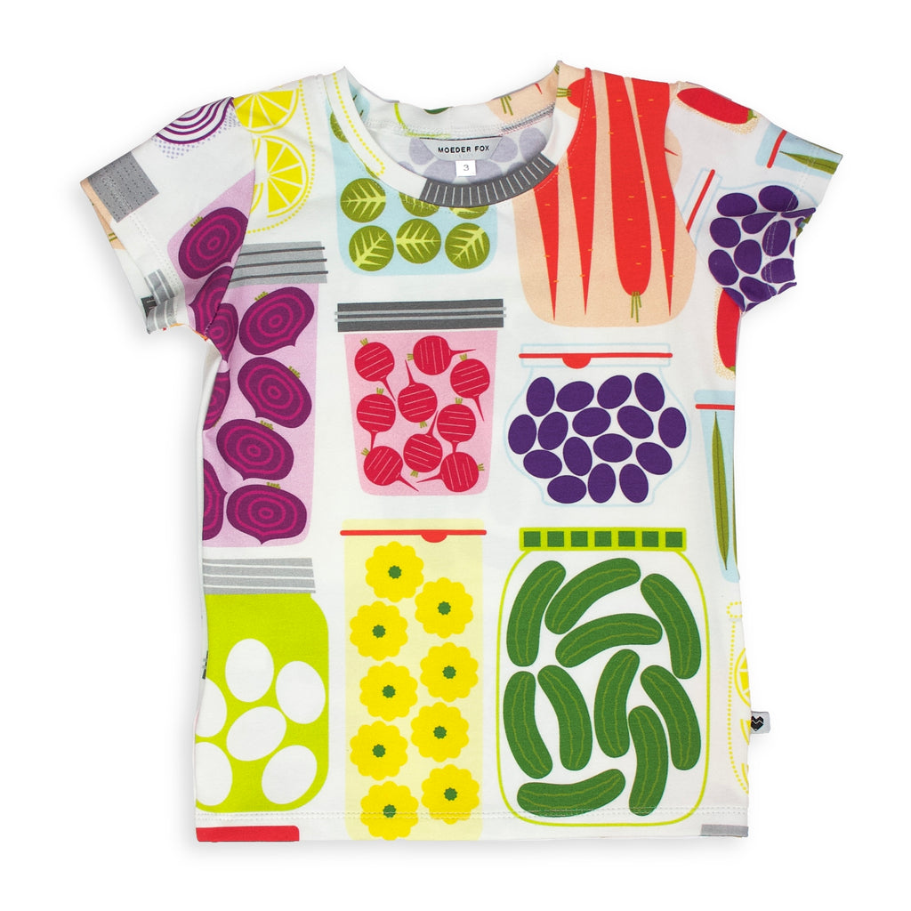 Cotton Jersey T-Shirt - Pickle Party