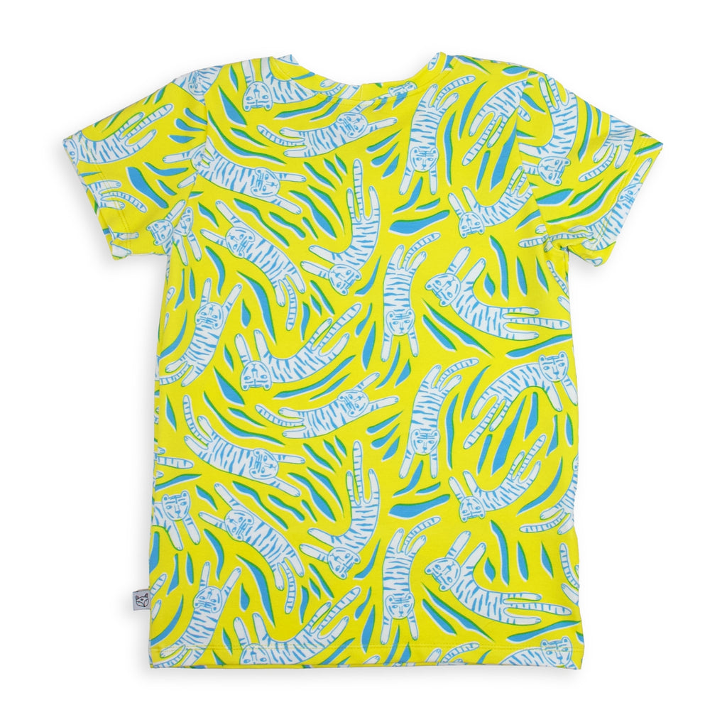 Cotton Jersey T-Shirt - Tiger Prowl