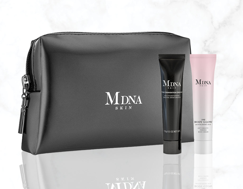 The Body Glow + The Reinvention Cream + Travel Case