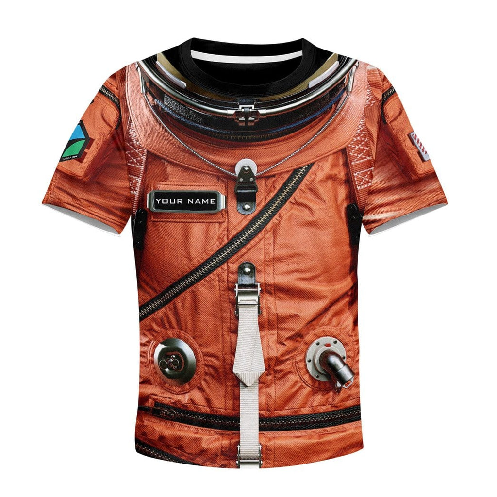 Gearhuman 3D Flightsuit Nasa Custom Kid Tshirt Apparel
