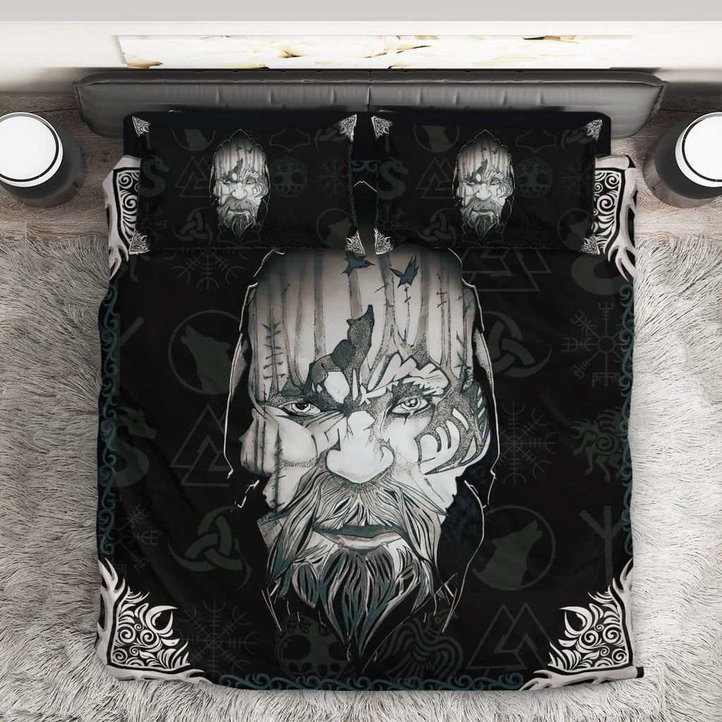 Custom Bedding Set Viking