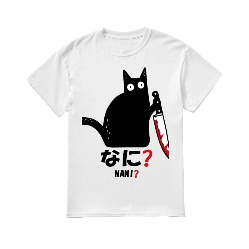 Gearhuman 2D Cat T-shirt Apparel