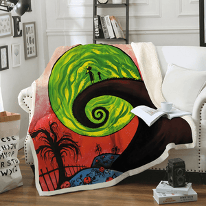 The Nightmare Before Christmas Full-Print Soft Blanket