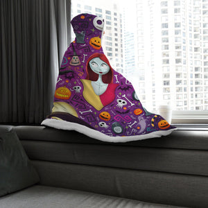 Gearhuman 3D Nightmare Before Christmas Custom Hooded Blanket
