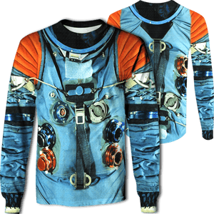 3D ASTRONAUT SUIT   Full-Print T-shirt - Hoodie Apparel
