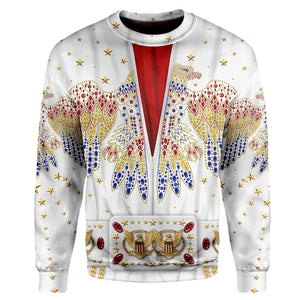 Gearhuman 3D Elvis Presley Suit Custom T-shirt - Hoodies Apparel