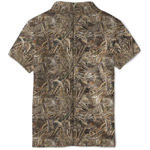 3D Hunting Costume Full-Print Polo T-Shirt Apparel