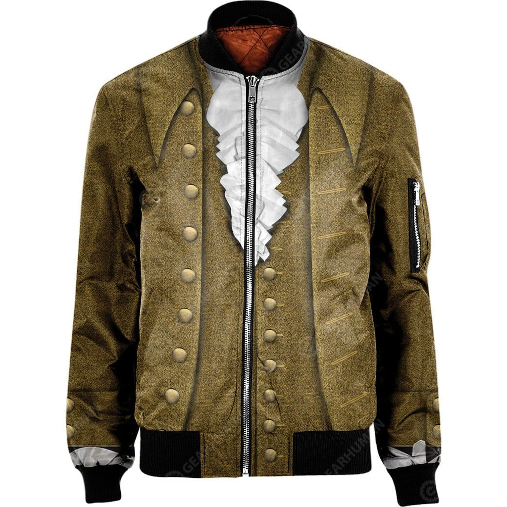 Hoodie NYLON-BLEND BOMBER JACKET JOHN ADAMS