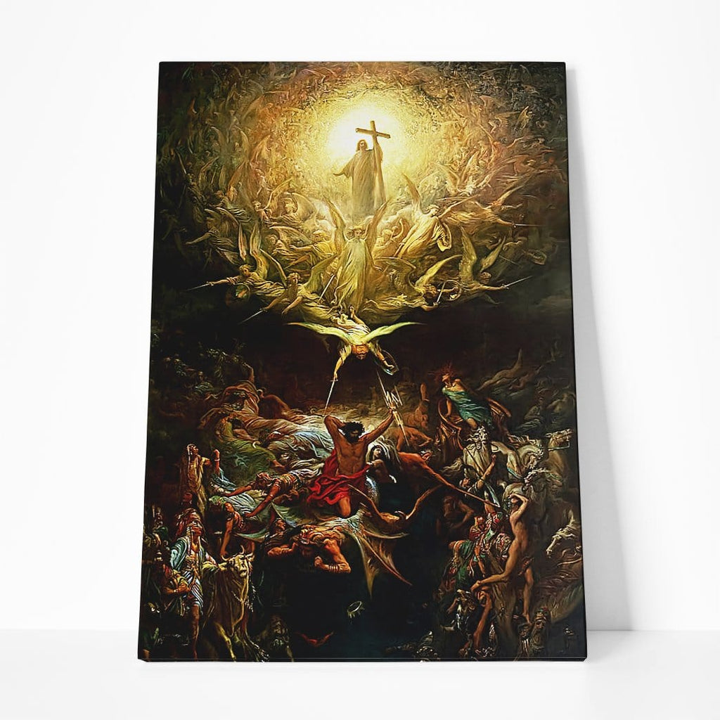 Gearhuman 3D The Triumph Of Christianity Custom Design Canvas